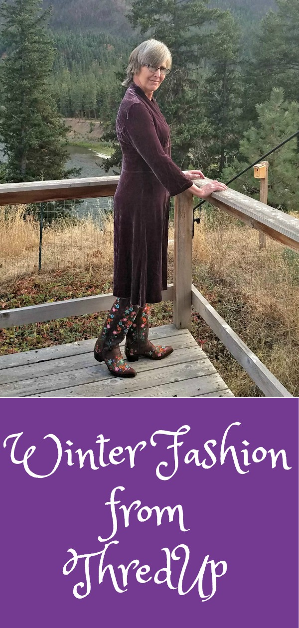 ThredUp Review, winter fashion, goody box