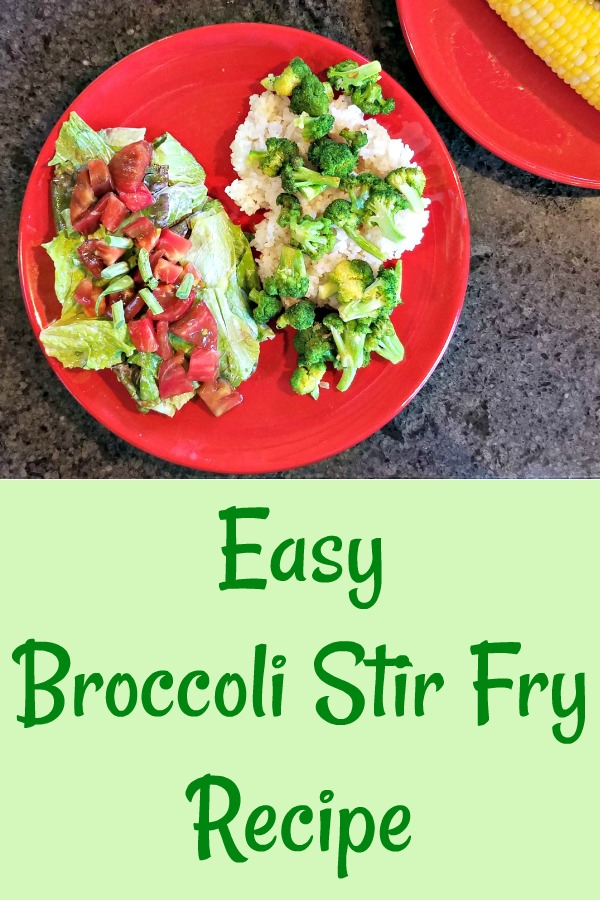easy broccoli stir fry recipe, farm to table cooking