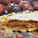 Savory Tart Recipe, Potato Tomato and Feta Tart, tomato tart recipe