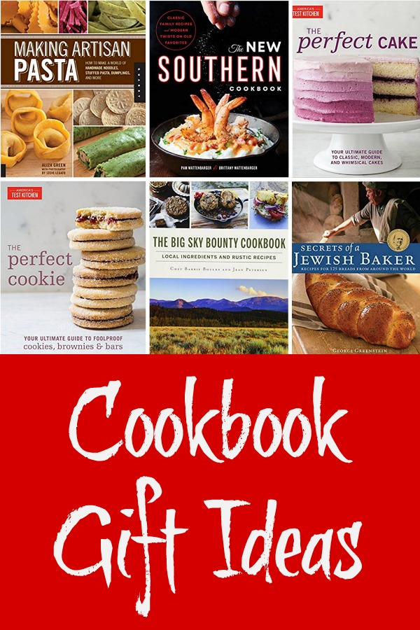 Cookbook Gift Ideas, cookbooks for holiday gift giving