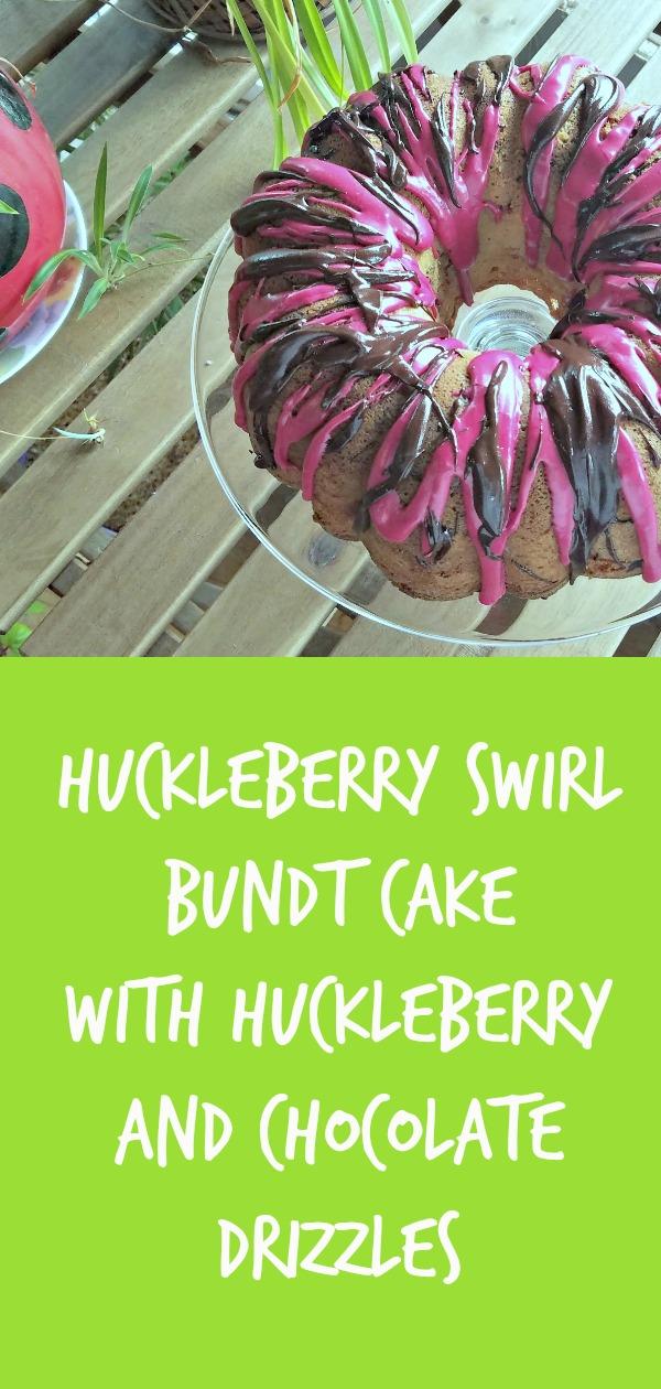 huckleberry cake, huckleberry swirl bundt cake, bundt cake