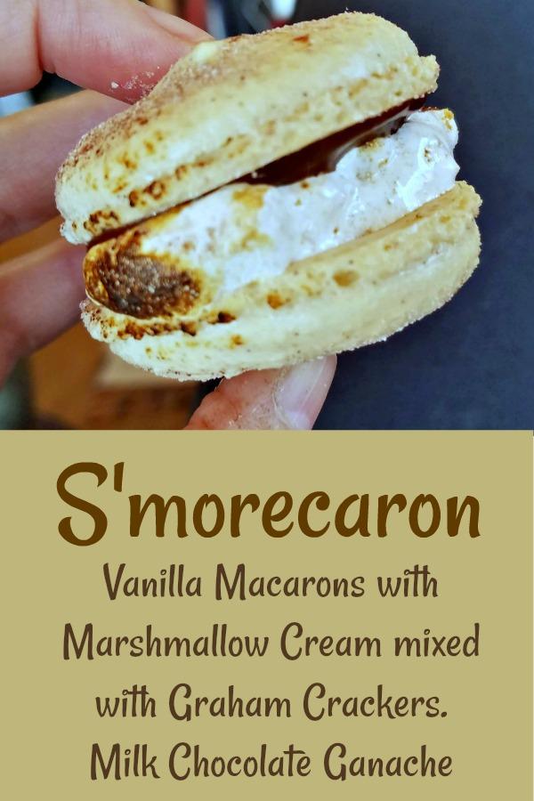 macaron recipe, vanilla macaron recipe, s'mores macaron, s'morecaron