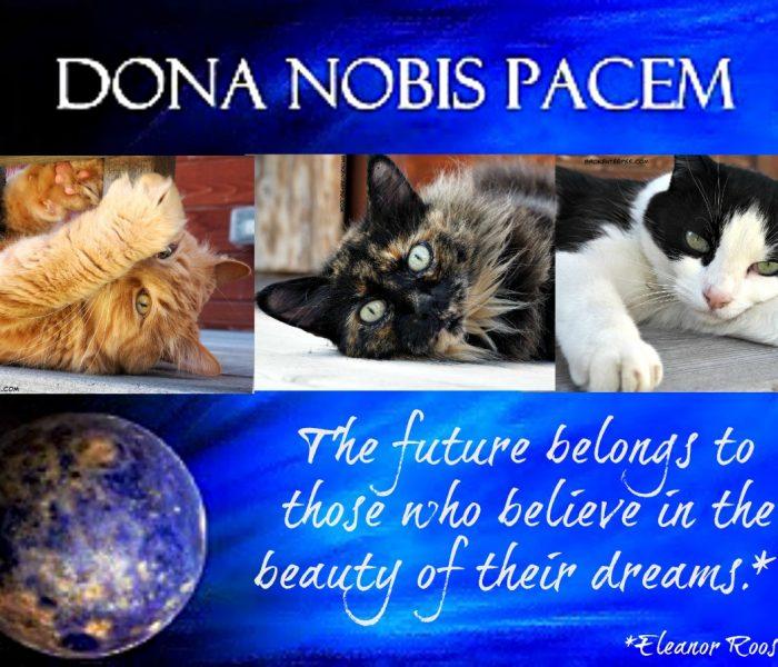 Dona Nobis Pacem 2018 – BlogBlast4Peace