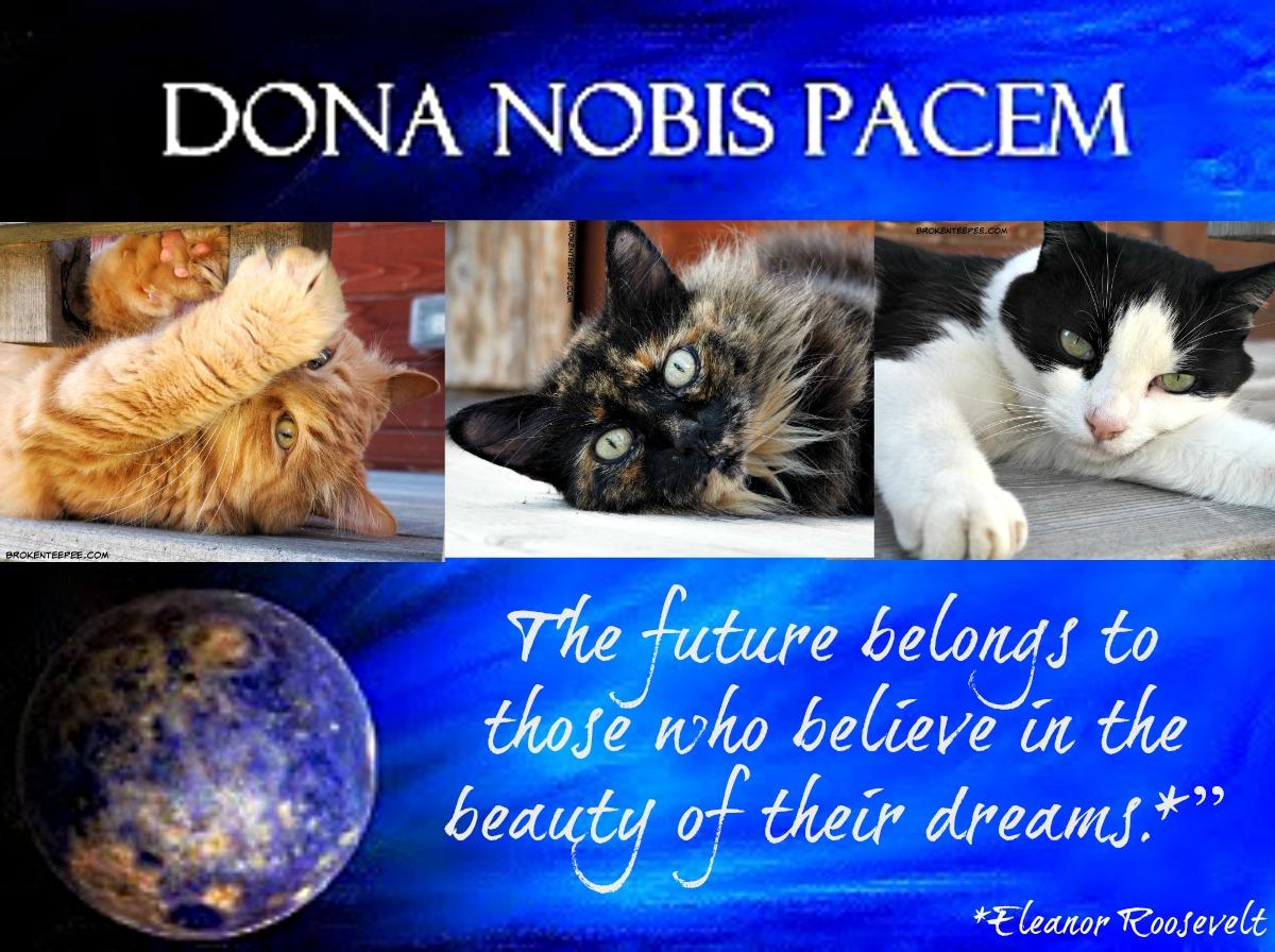 dona nobis pacem, blog blast for peace, #BlogBlast4Peace