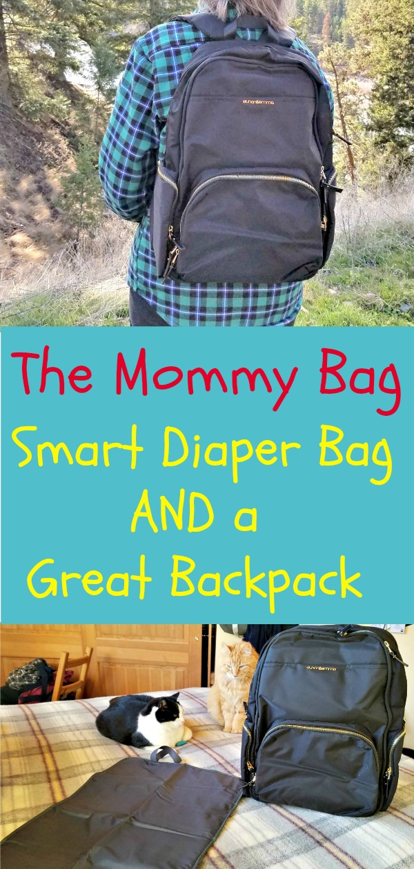 The Mommy Bag, best diaper bag, great backpack, AD