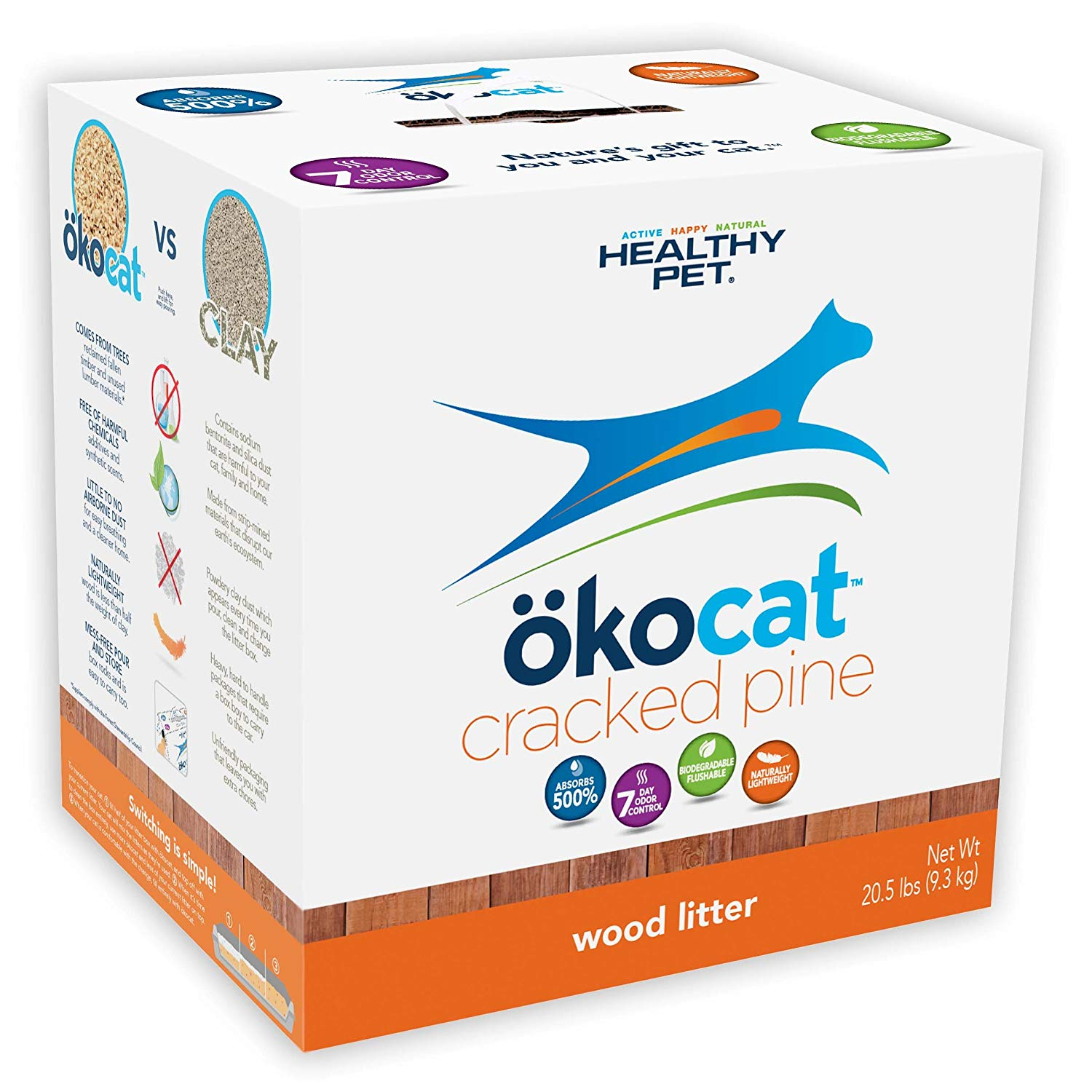 eco friendly cat litter, ocokat, AD