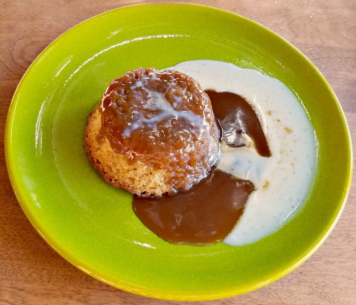 Steamed Pudding Recipe – Gooey Toffee Pudding with Bourbon Vanilla Creme Anglaise