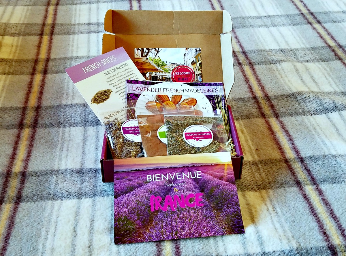 Spice Madam Subscription Box, Lavendar Madeleines, AD
