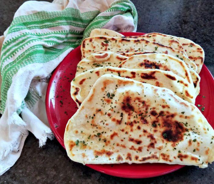 Homemade Naan Recipe – Indian Flatbread Recipe