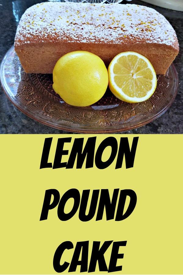 lemon pound cake, pound cake, lemon recipe, dessert