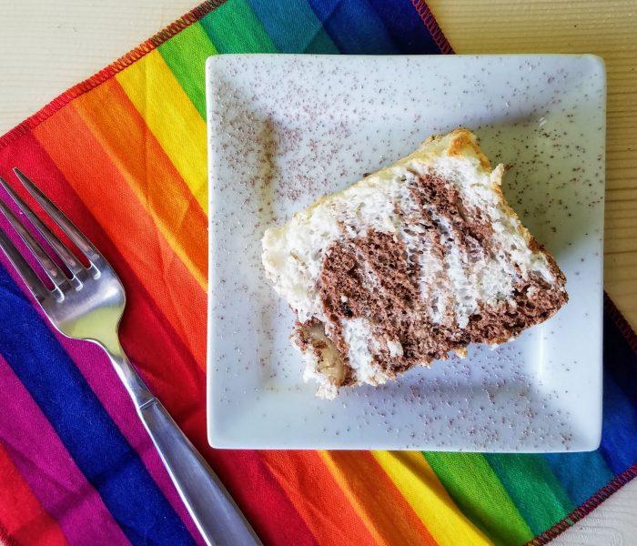 Marbled Angel Food Cake Recipe