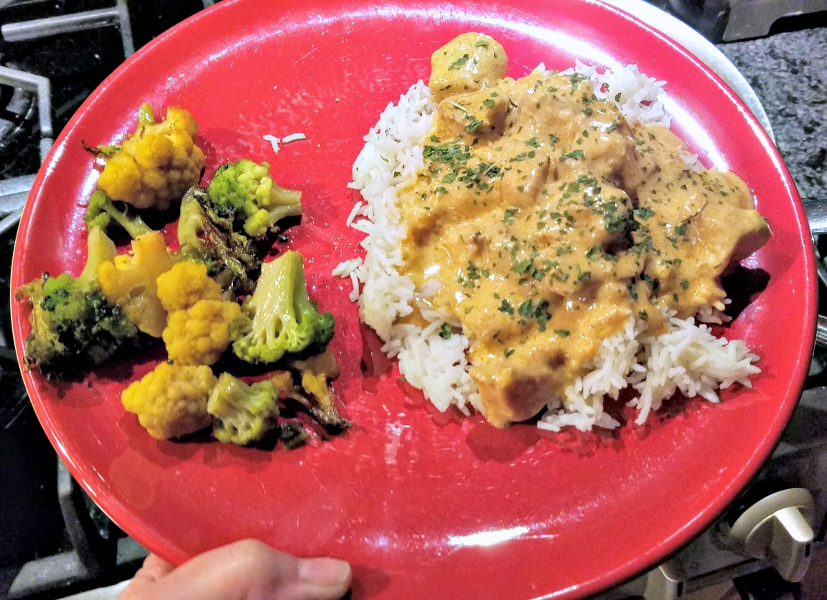 easy chicken paprikash, easy weeknight dinner, easy chicken dinner