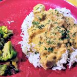 easy chicken paprikash, easy weeknight dinner, easy chicken dinner