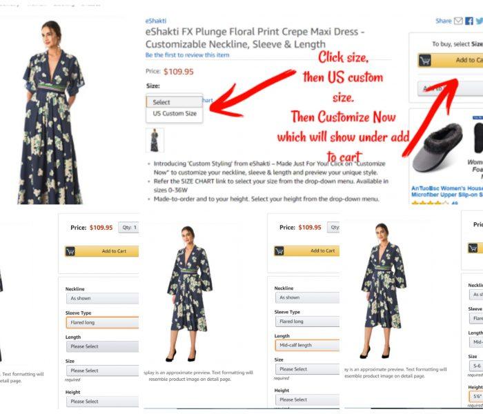 eShakti FX Custom Styling Now on Amazon