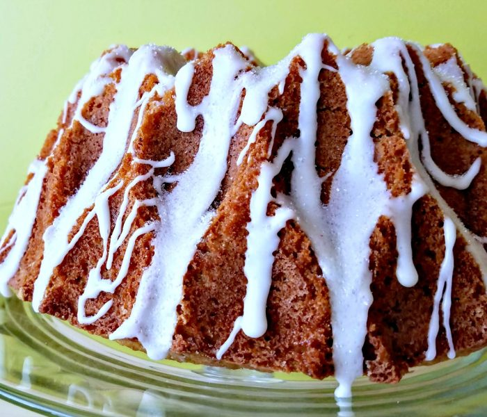 Double Ginger Bundt Cake with Ginger Drizzle