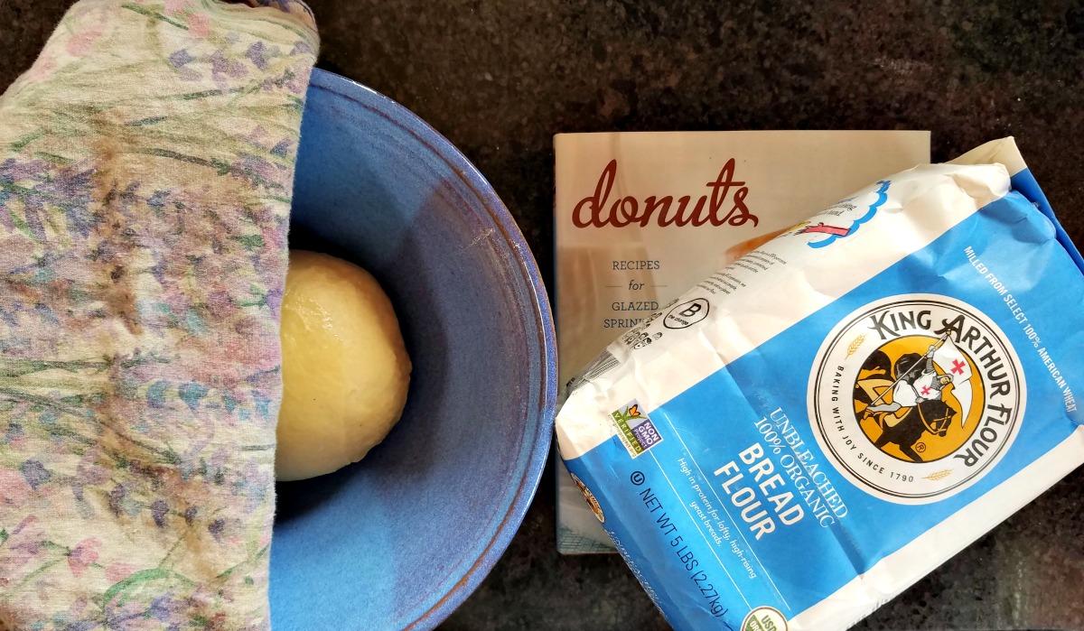 brioche donuts, raised donuts, making donuts