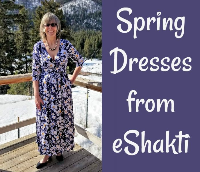Spring Dresses from eShakti are Custom Made
