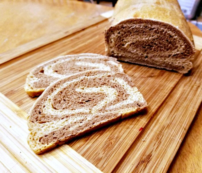 Easy Marbled Rye Bread Recipe