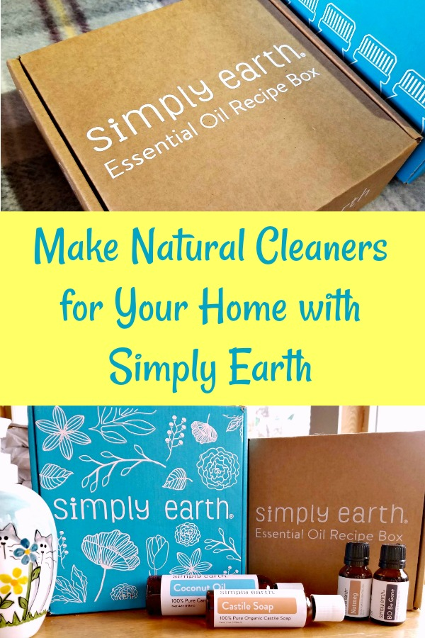 Simply Earth, natural home, essential oils, natural cleaners, AD
