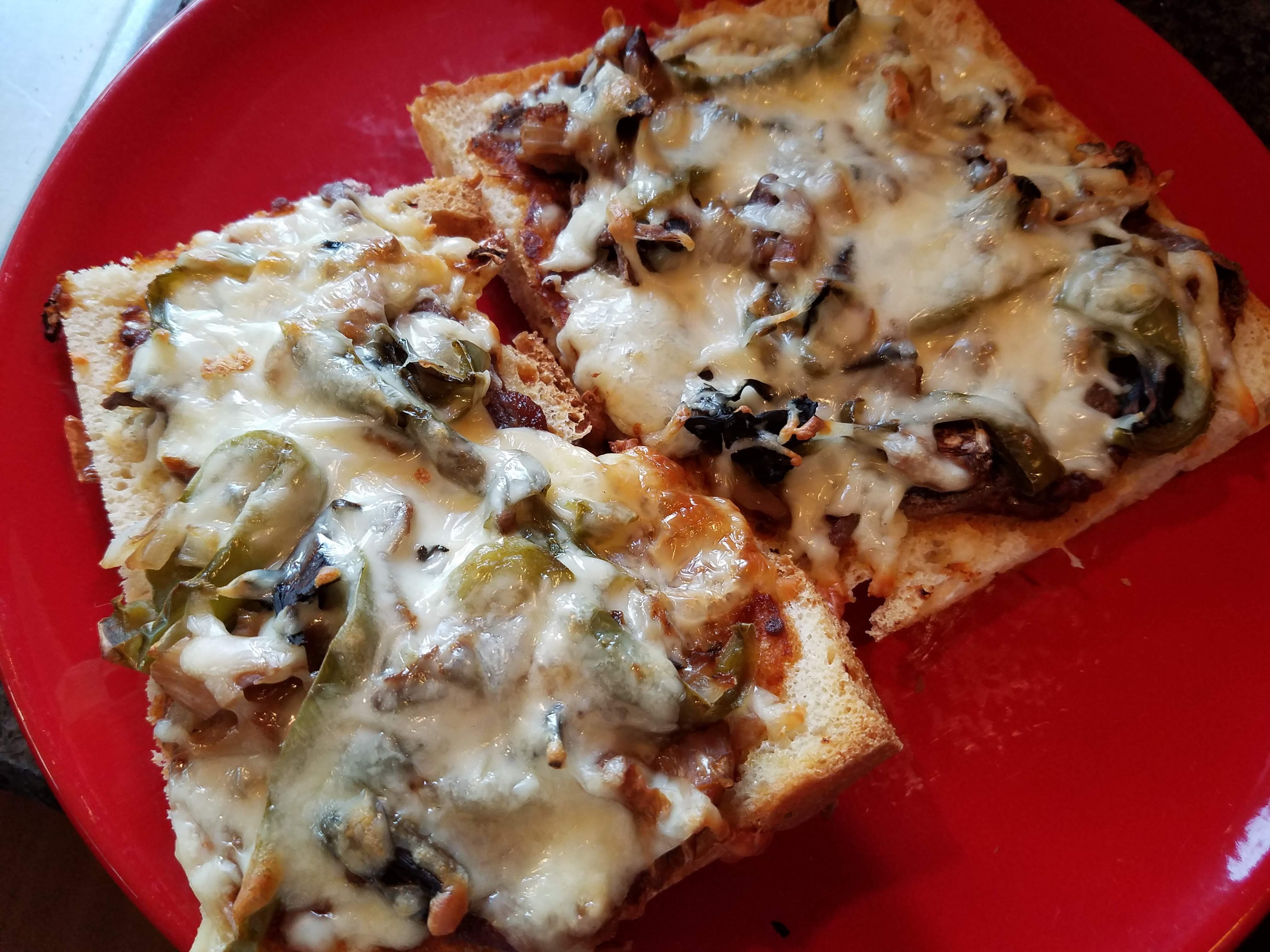 flatbread pizza, focaccia bread pizza