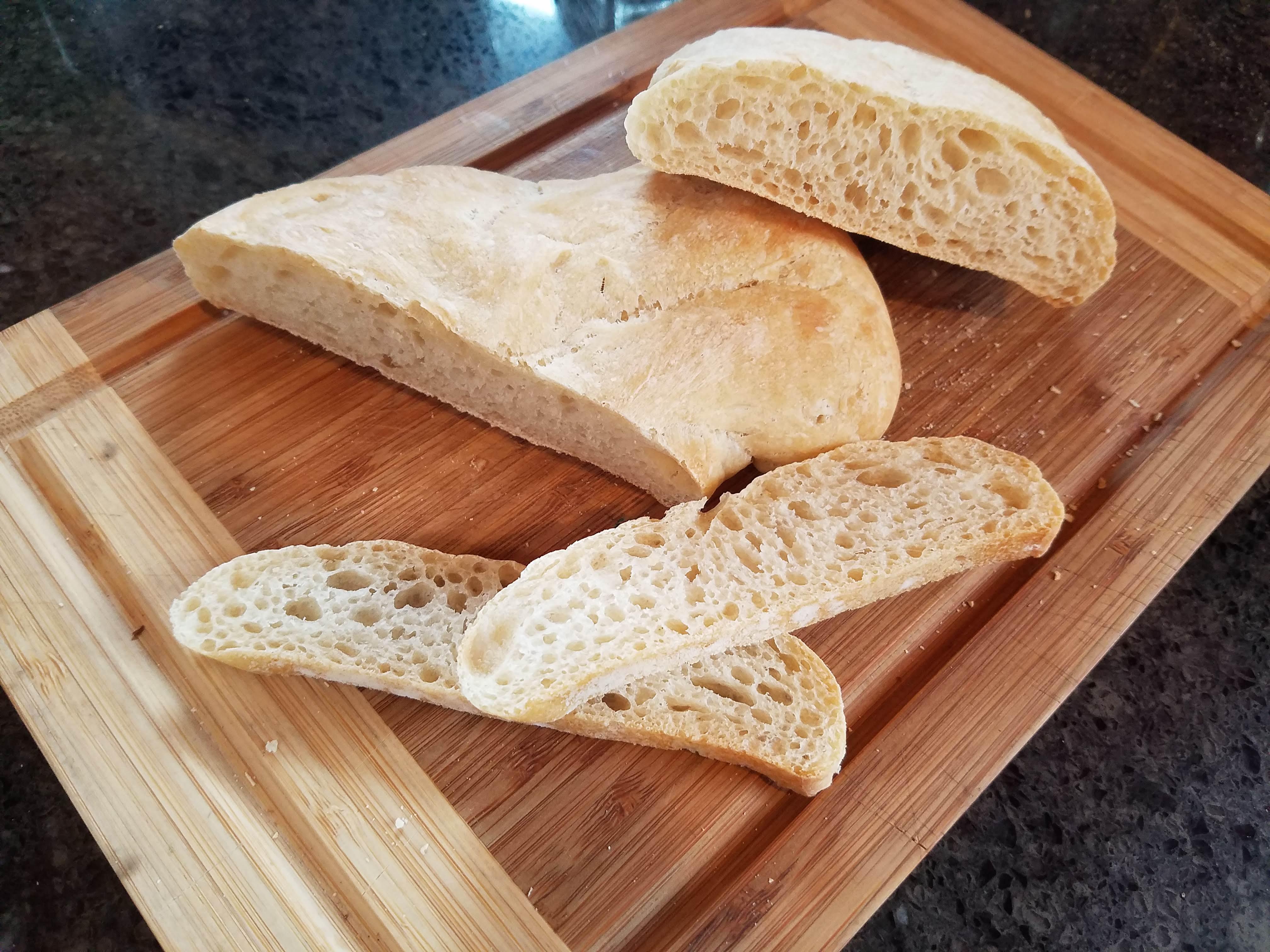 ciabatta, easy ciabatta bread recipe