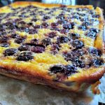frozen blueberry recipe, blueberry buttermilk pie bars