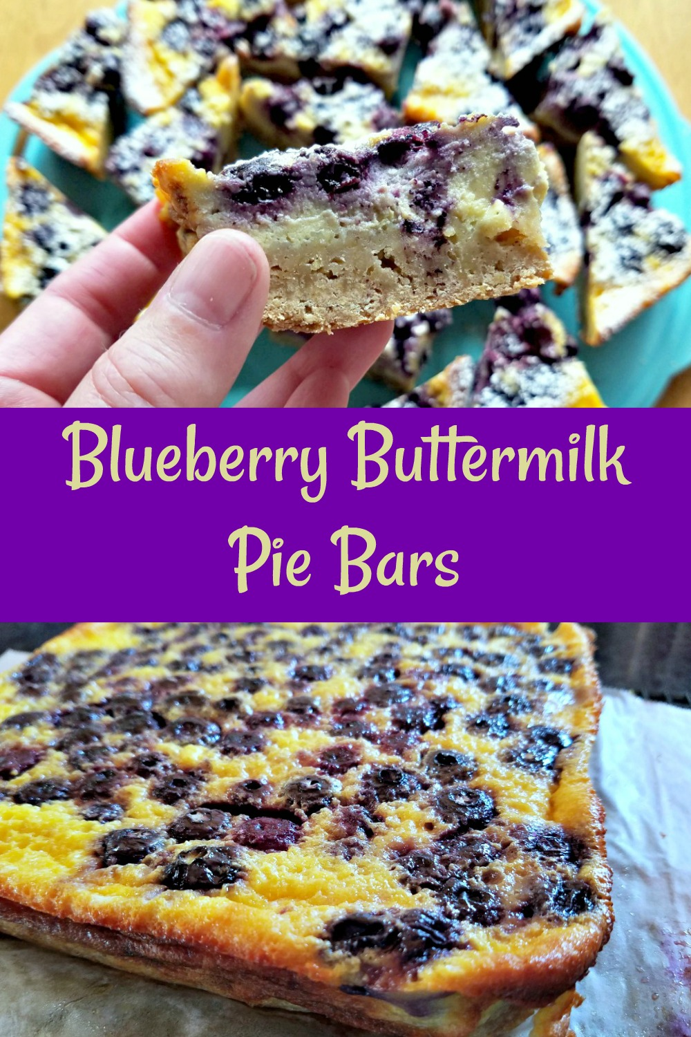 blueberry buttermilk pie bars, frozen blueberry recipe, blueberry cookies