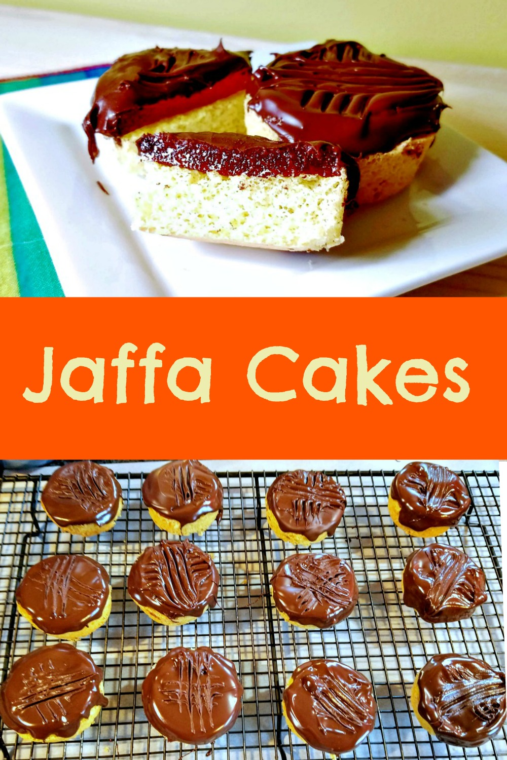 Jaffa Cakes, how to make Jaffa cakes,