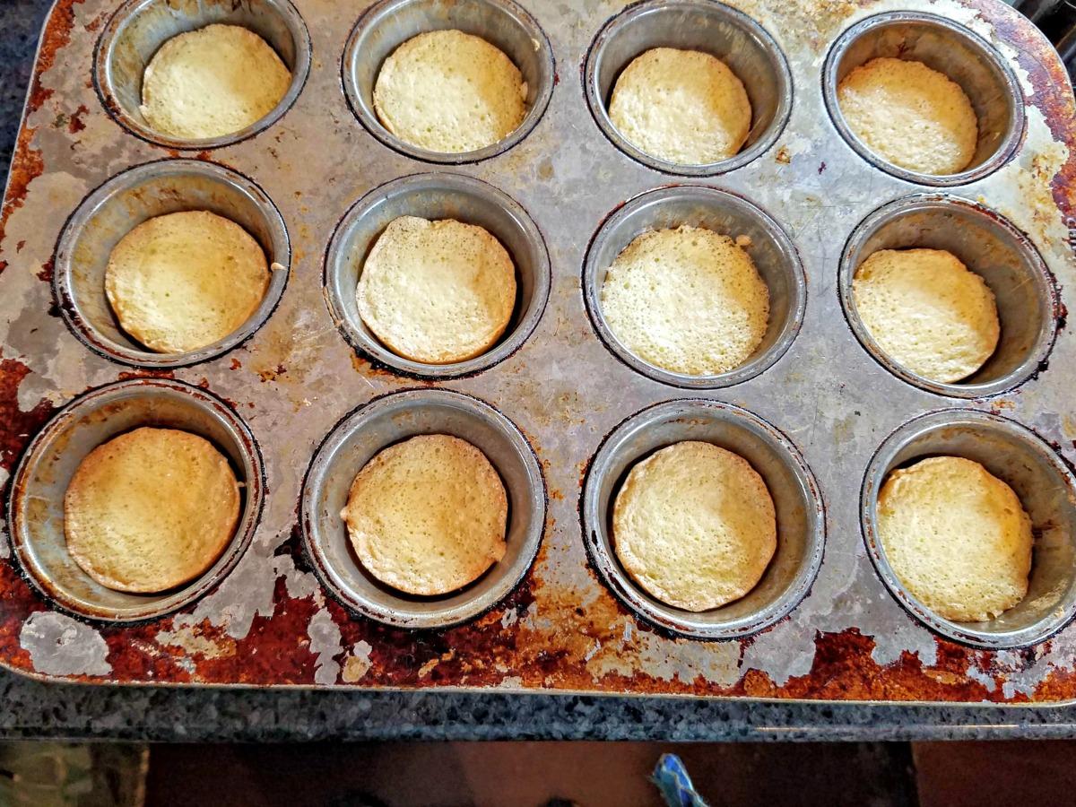 baked Jaffa cakes