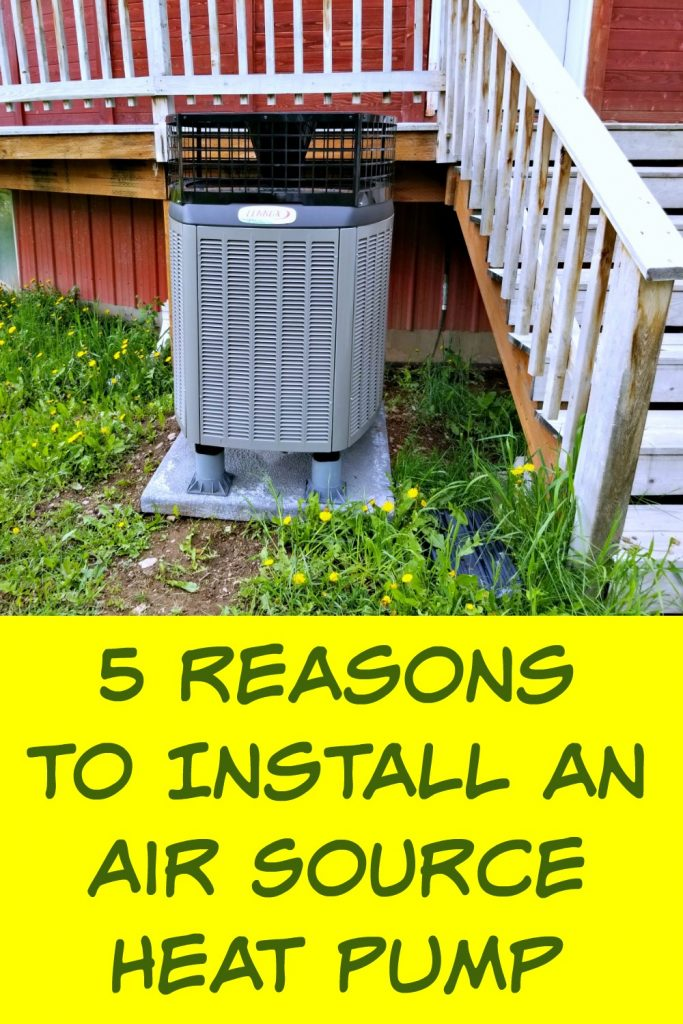 5 reasons to install an air source heat pump