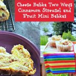 cheese babka two ways