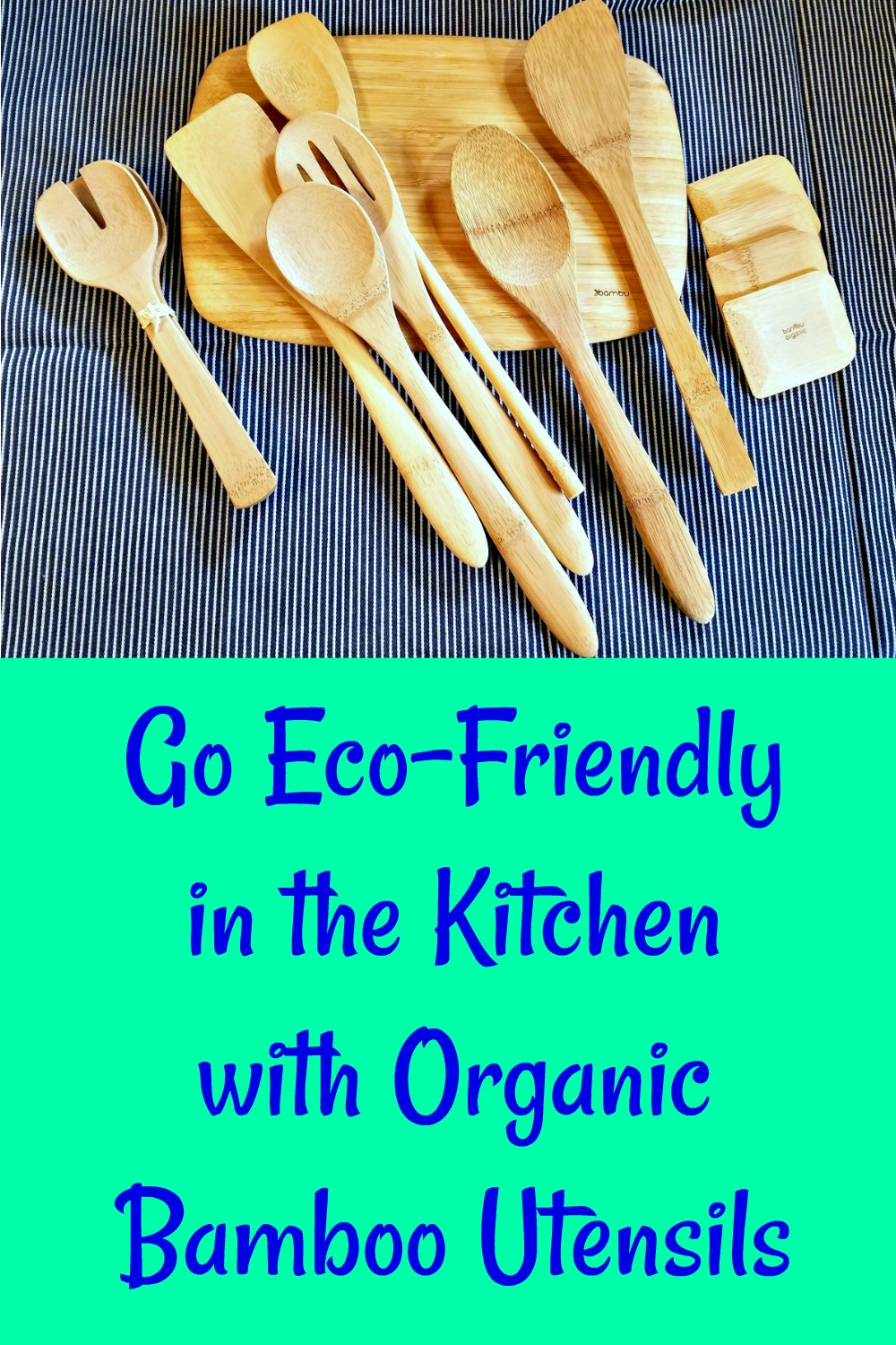 Eco Friendly Bamboo Kitchen Utensils From Bambu are the ...