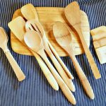 bamboo kitchen utensils from Bambu, AD