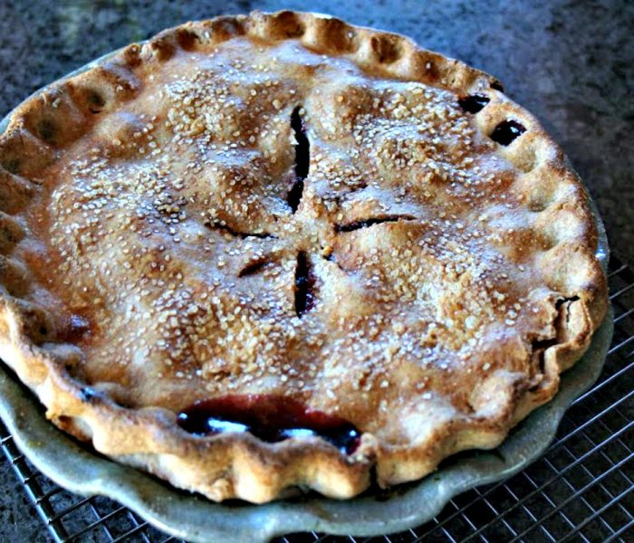 Fresh Cherry Pie – It's Cherry Season, Celebrate with Pie!