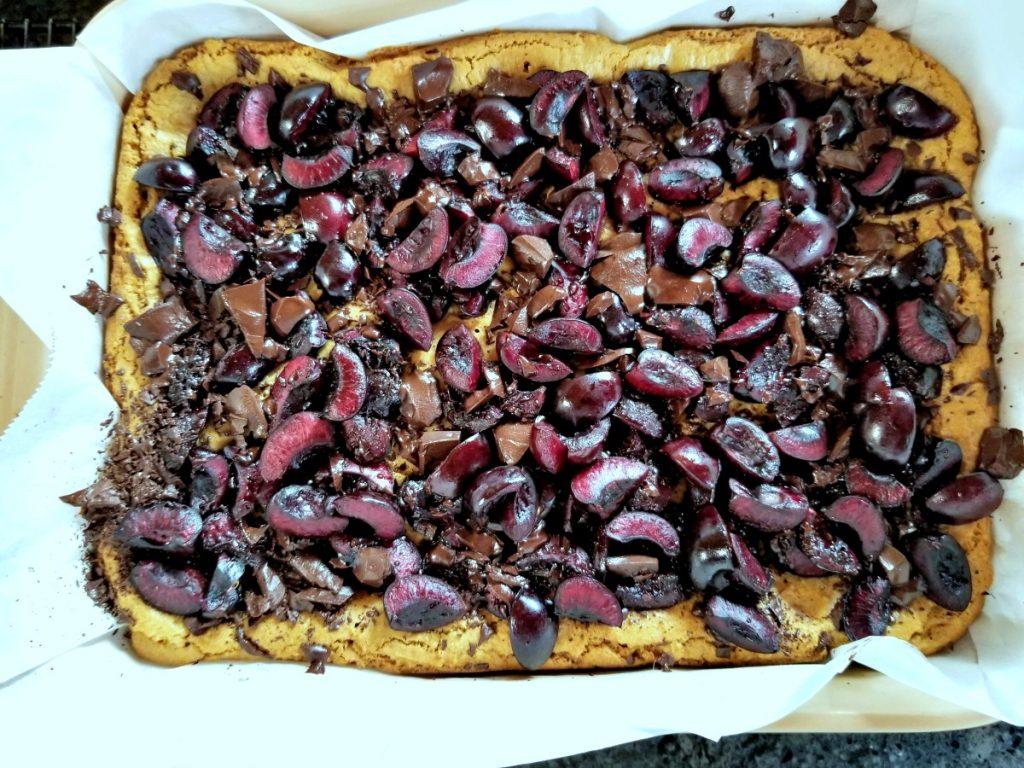 fresh cherry recipe, cherry dessert recipe