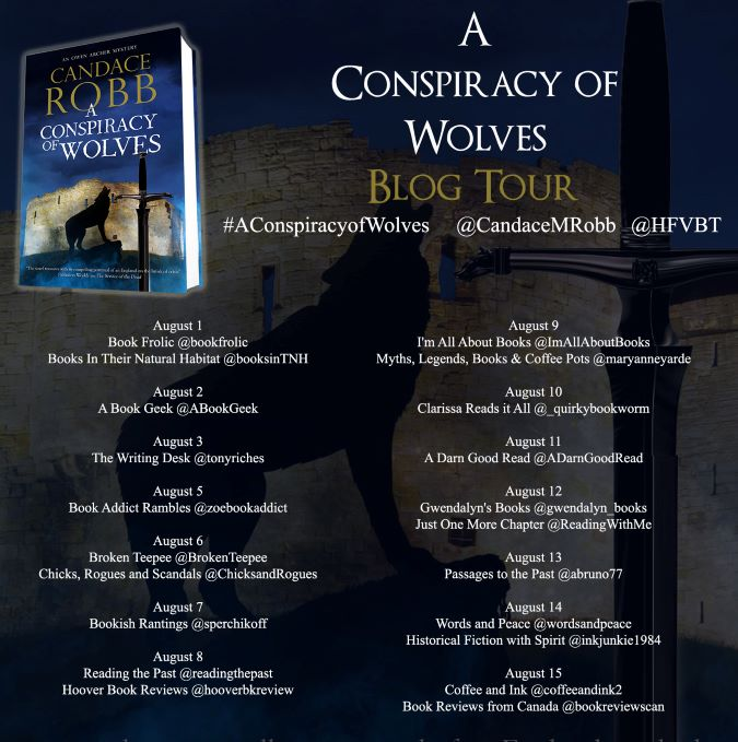 A Conspiracy of Wolves Tour Banner
