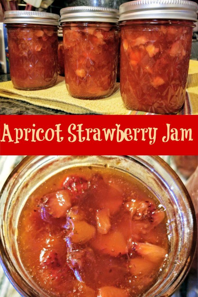 Apricot Strawberry Jam, Strawberry Apricot Jam