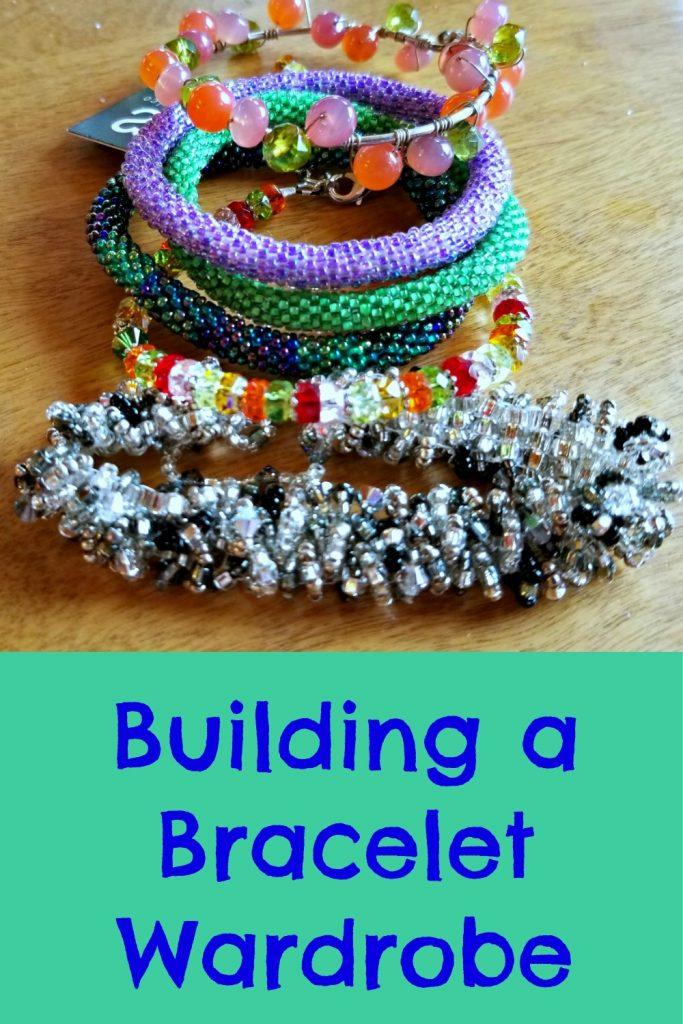 building a bracelet wardrobe with artisan bracelets