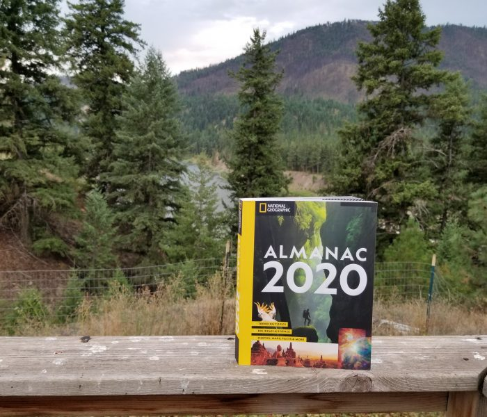 National Geographic's Almanac 2020 – Blog Tour and Book Review