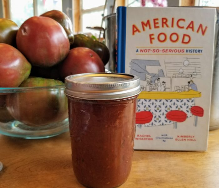 American Food by Rachel Wharton – Review and a Recipe for Homemade Ketchup