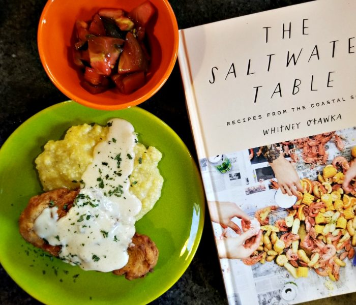 Fried Pork Chops And Bay Laurel Gravy – The Saltwater Table by Whitney Otawka, Cookbook Review