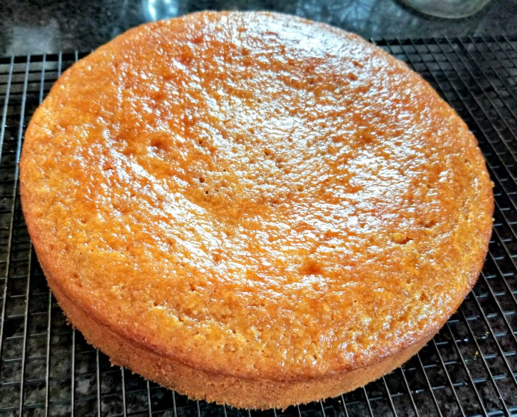 Yogurt cake with Lemon and Ginger