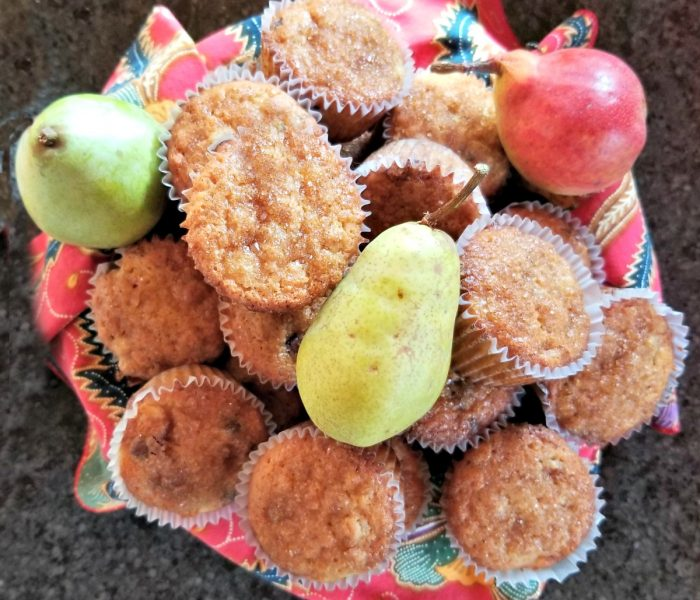Pear Recipe – Pear Chocolate Chip Muffins