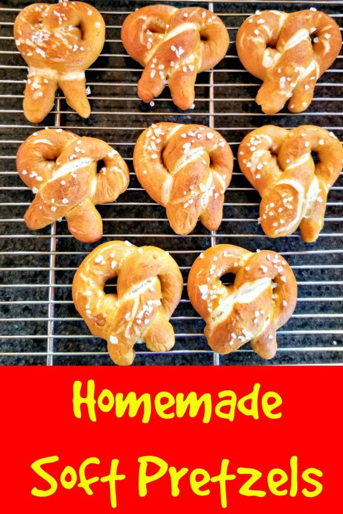 homemade soft pretzels, bavarian pretzels