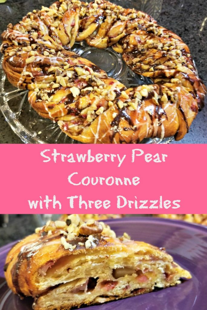 strawberry pear couronne
