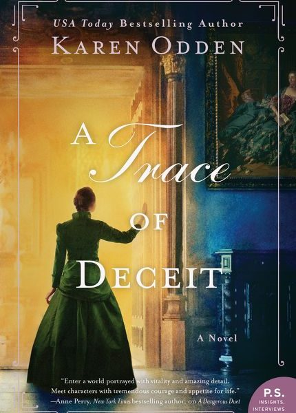 A Trace of Deceit by Karen Odden – Blog Tour and Book Review