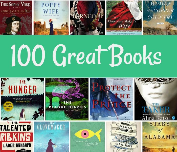 100 Best Books In Fiction from Broken Teepee Reviews