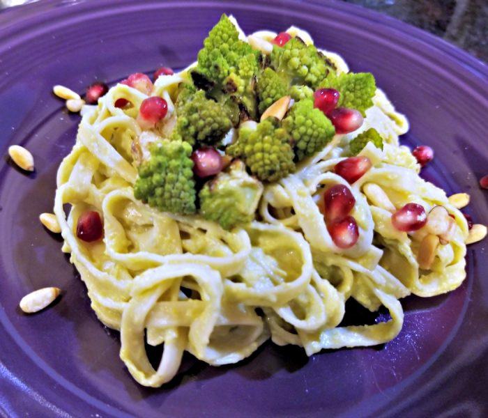 Pasta Recipe: Pasta with Creamy Broccoli Sauce