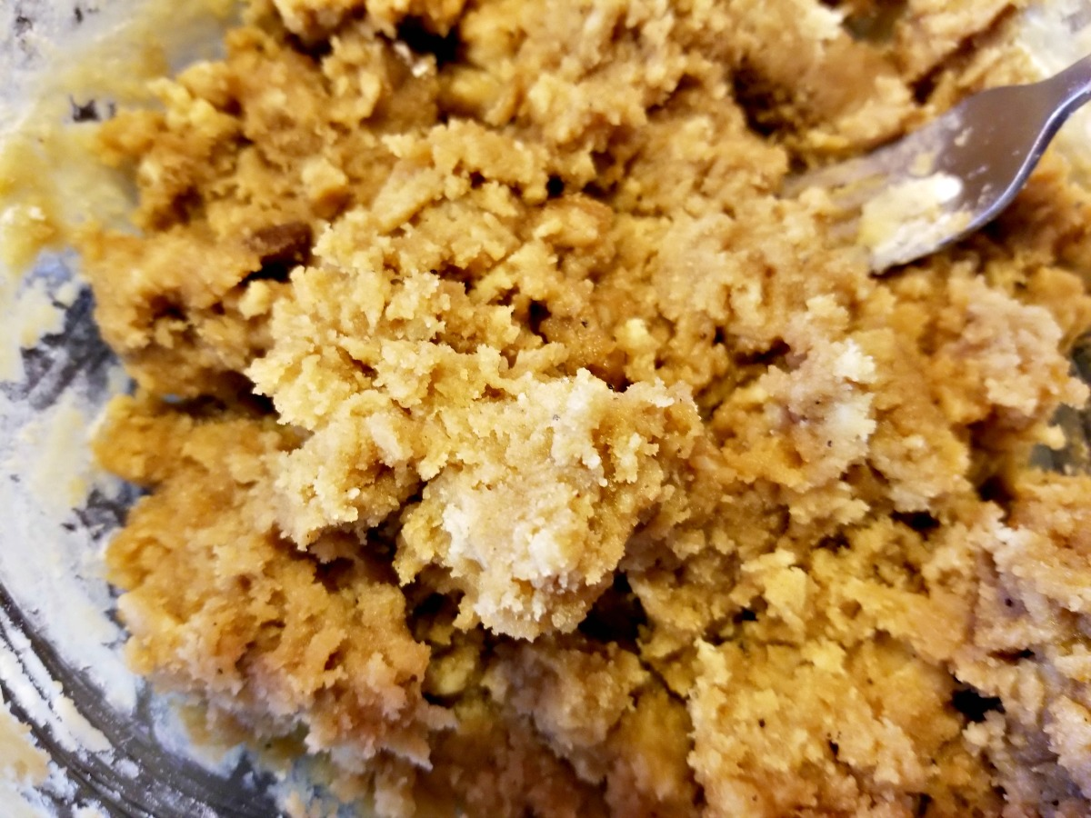 make the topping for the crumb cake