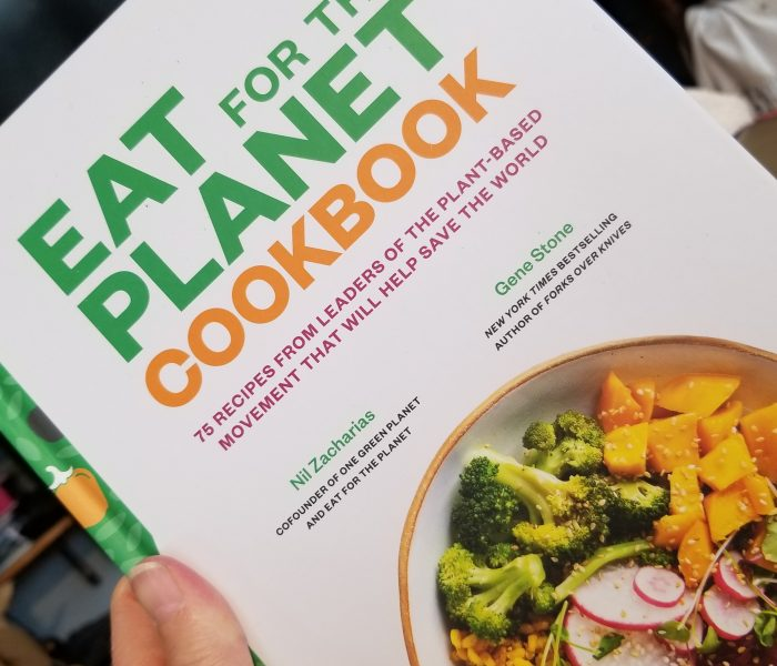 Vegan Cookbook: Eat For the Planet by Gene Stone and Nil Zacharias. It's the Roaring 20ies Giveaway Hop! Win the Eat For the Planet Cookbook and $15 PayPal